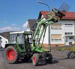 =Fendt 360 GT unterwegs in Petersberg-Marbach im April 2020
