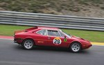 William Moorwood, Ferrari 308 GT4  Pirelli Ferrari formula classic ,im Programm des Youngtimer Festival Spa am 24 July 2016