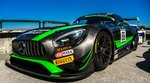 Mercedes-Benz AMG-GT GT3 in der Blancpain Gt Series auf dem Hungaroring am 28.08.2016.